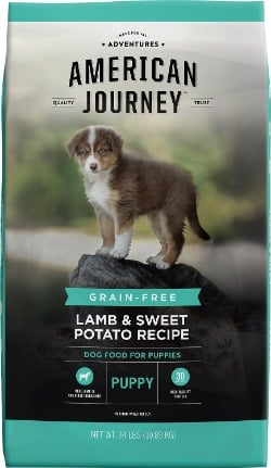 American Journey Lamb & Sweet Potato Recipe Grain-Free Puppy Dry Dog Food