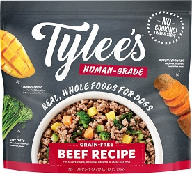 Tylee's Human-Grade Beef Recipe Frozen Dog Food