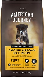 American Journey Chicken & Brown Rice Dry Puppy Food