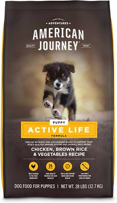 american journey active life puppy